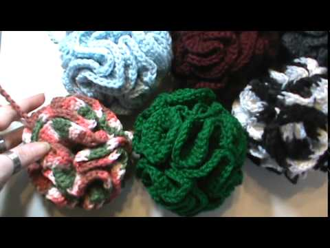 Crochet Bath Puff Youtube