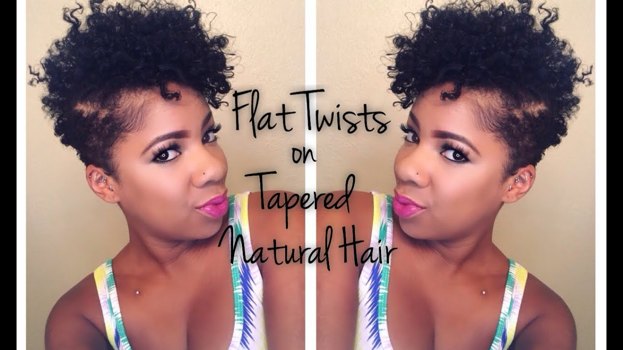 style tapered natural hair