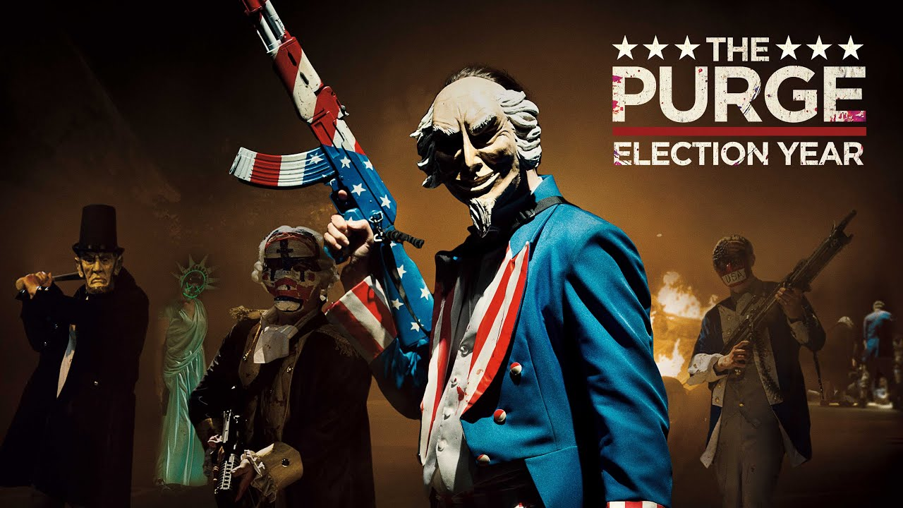 The Purge Election Year Poster Wallpapers: The Purge: Election Year