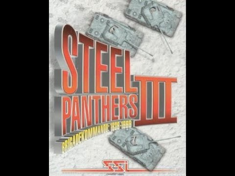 Steel Panthers III 1997 Dos Intro