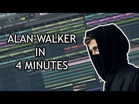 MAKE ALAN WALKER TRACK IN 4 MINUTES - [FL STUDIO]
