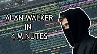 MAKE ALAN WALKER TRACK IN 4 MINUTES - [FL STUDIO]