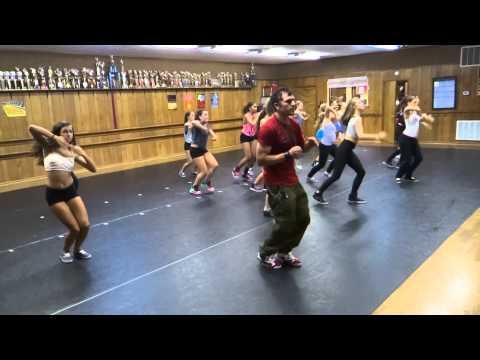 JLucas Hip Hop Master Class at Burns Dance Studio