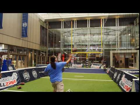 Hitting the mark College football hall of fame Pass challenge