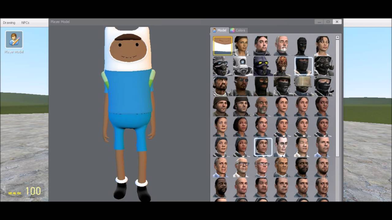 Gmod - How to get Player Models!