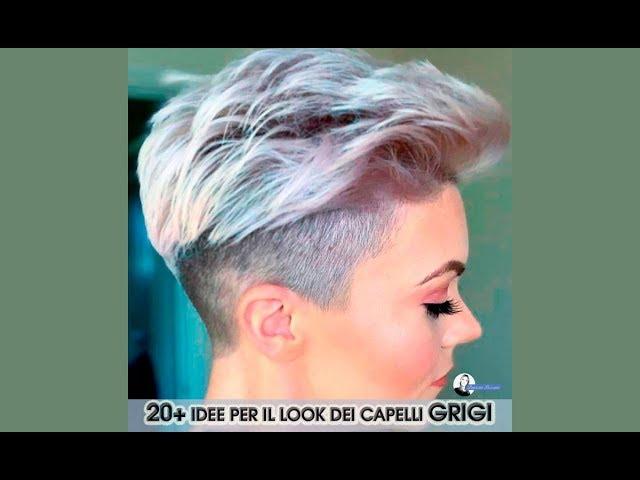 Cambio look capelli grigi