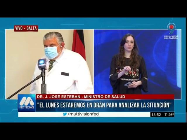 El nuevo Ministro de Salud de la Provincia aseguró que en Metan hay circulación comunitaria