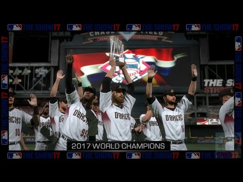 MLB: The Show 17 - Arizona Diamondbacks World Series Celebration