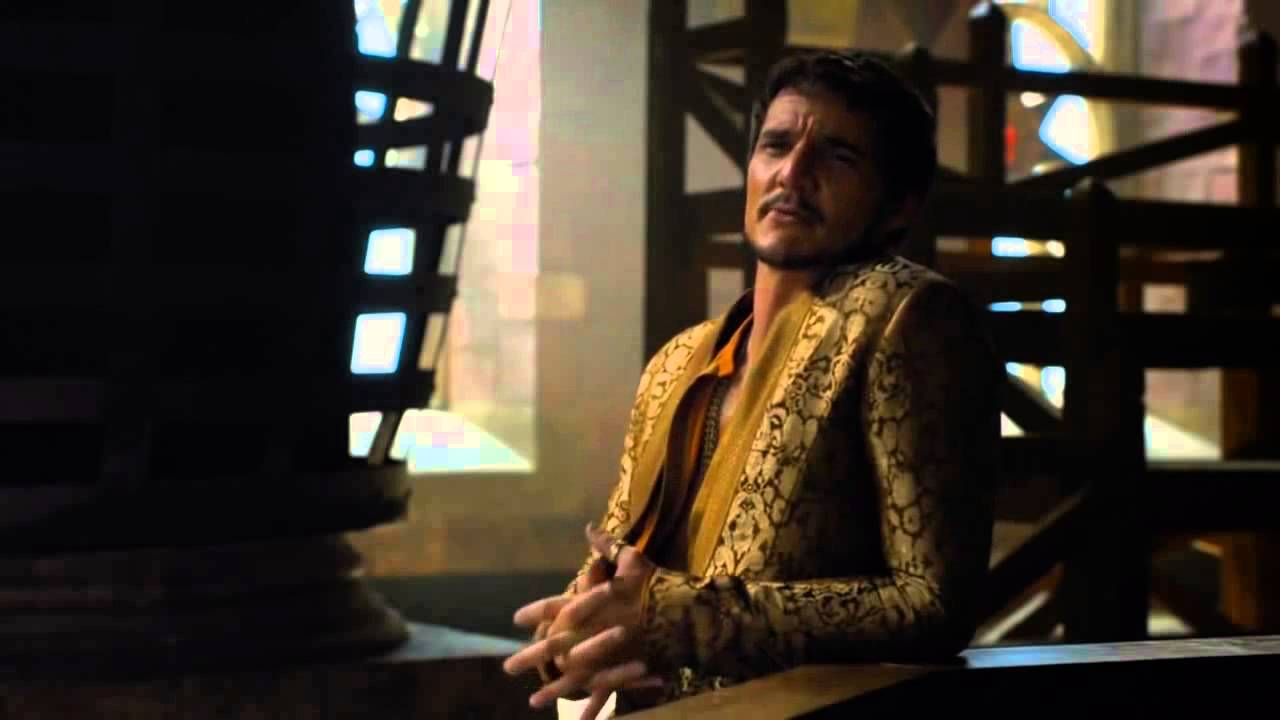prince oberyn, on the big and beautiful world we live in. - youtube
