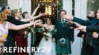 I'm A Wedding Planner & I Got Married In A 200-Year-Old Castle | World Wide Wed | Refinery29