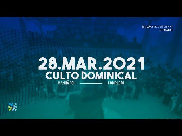 ESCOLA BIBLICA DOMINICAL- 28/03/2021.