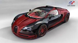 GT6 Top Speed Tune for the Bugatti Veyron 16.4 2009(305mph/490kph)