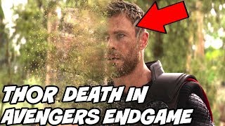 Thor Death and More Spoilers Leaks Confirmed by Avengers Endgame Dubber Avengers Infinity War