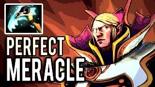 Invoker Perfect Killer Build 7.03 Machine Gun 20 kills by Meracle- Intense Race Game 8k MMR Dota 2