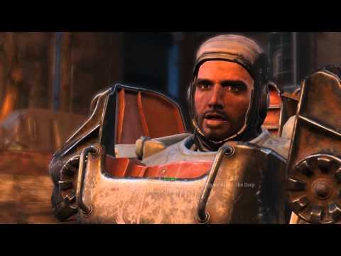 Fallout 4 Walkthrough PT 3, Fire Support Quest for Brotherhood of Steel
