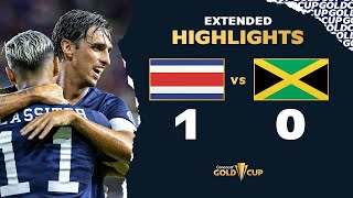 Extended Highlights: Costa Rica 1-0 Jamaica  Gold Cup 2021