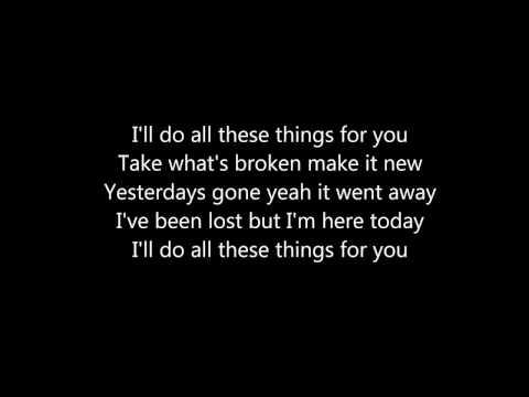 OneRepublic - All these things (lyrics)
