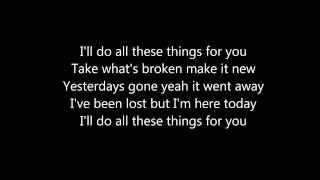 onerepublic all these things lyrics