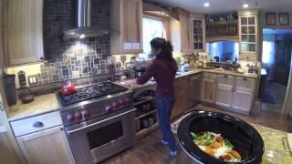 Vension Roast In The Crock Pot