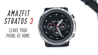 Amazfit Stratos 3 Review: Works WITHOUT Your Smartphone!