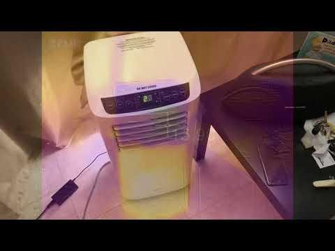 Arlec 8000 BTU Slimline Portable Air Conditioner
