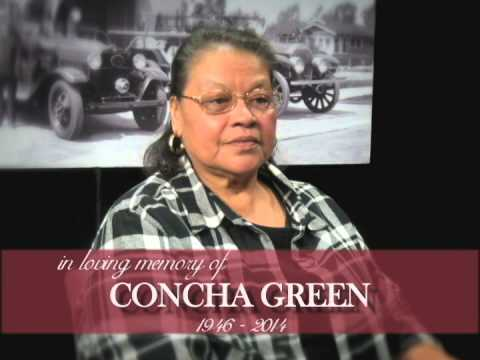 In Memory of Concha Greene