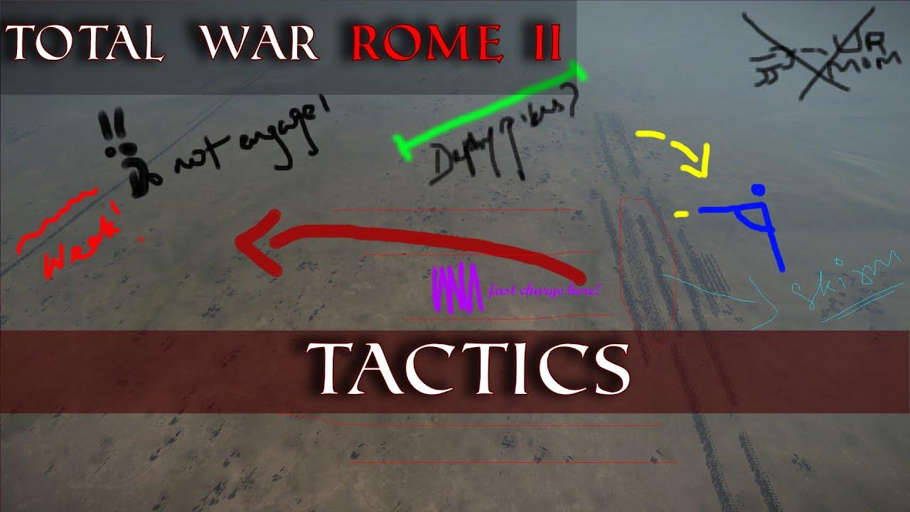 Divide and Conquer   Total War Tactics #2   Total War Rome ...