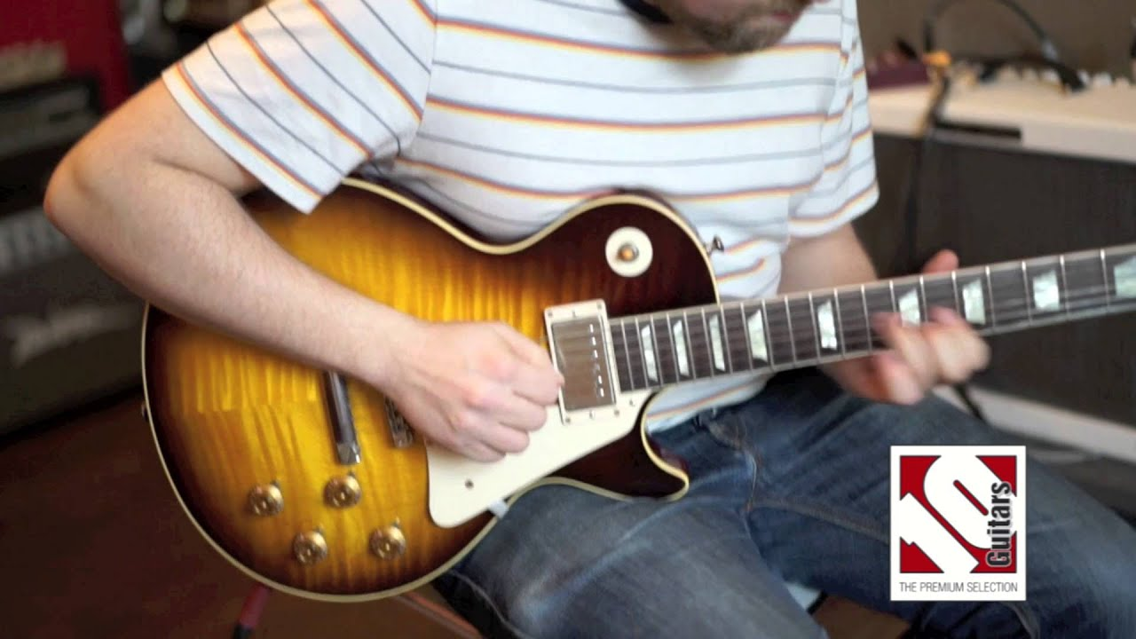 gibson les paul 1959 joe perry vos 2013 youtube. Black Bedroom Furniture Sets. Home Design Ideas