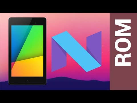 Get Android Nougat on the 2013 Nexus 7