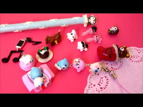 Image of: Pokemon Youtube Premium Ebay Polymer Clay Charm Update 6 Christmas Charms Kawaii Animals And