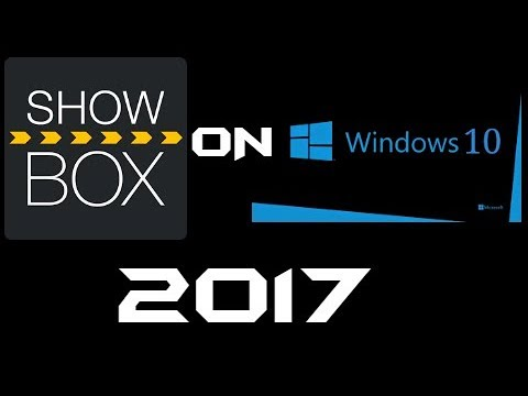 showbox app for win 10
