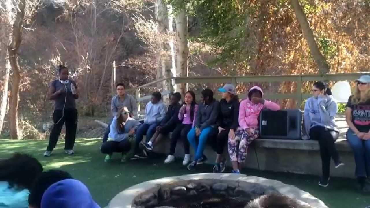 ashley padilla be líder canyon creek sport camp youtube