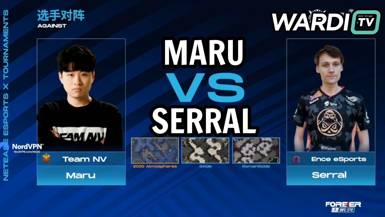 Maru vs Serral - $23k NEXT 2021 SC2 Masters Groups! (TvZ)