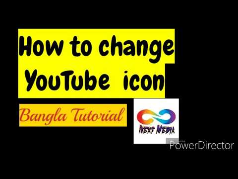 Change YouTube Icon 2020 || YouTube Channel Icon 2020 Change Bangla Tutorial.