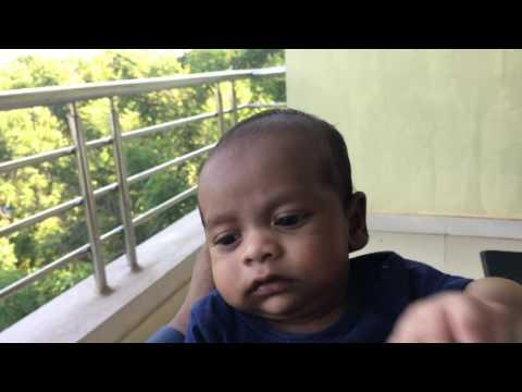Ayaan in balcony