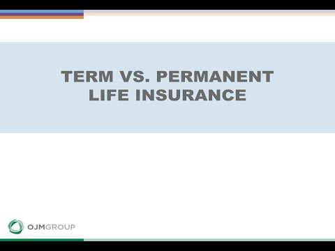 Term vs. Permanent Life Insurance: Which Option is Right for You?