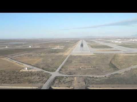 BAe ATP Flight Deck - Landing in Enfidha Tunisia