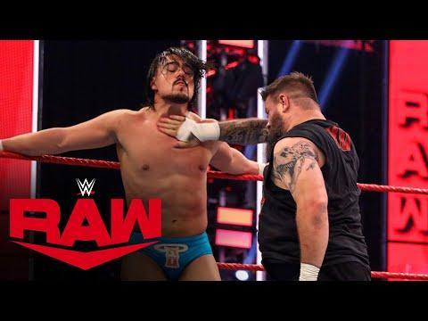 Kevin Owens vs. Angel Garza: Raw, May 25, 2020