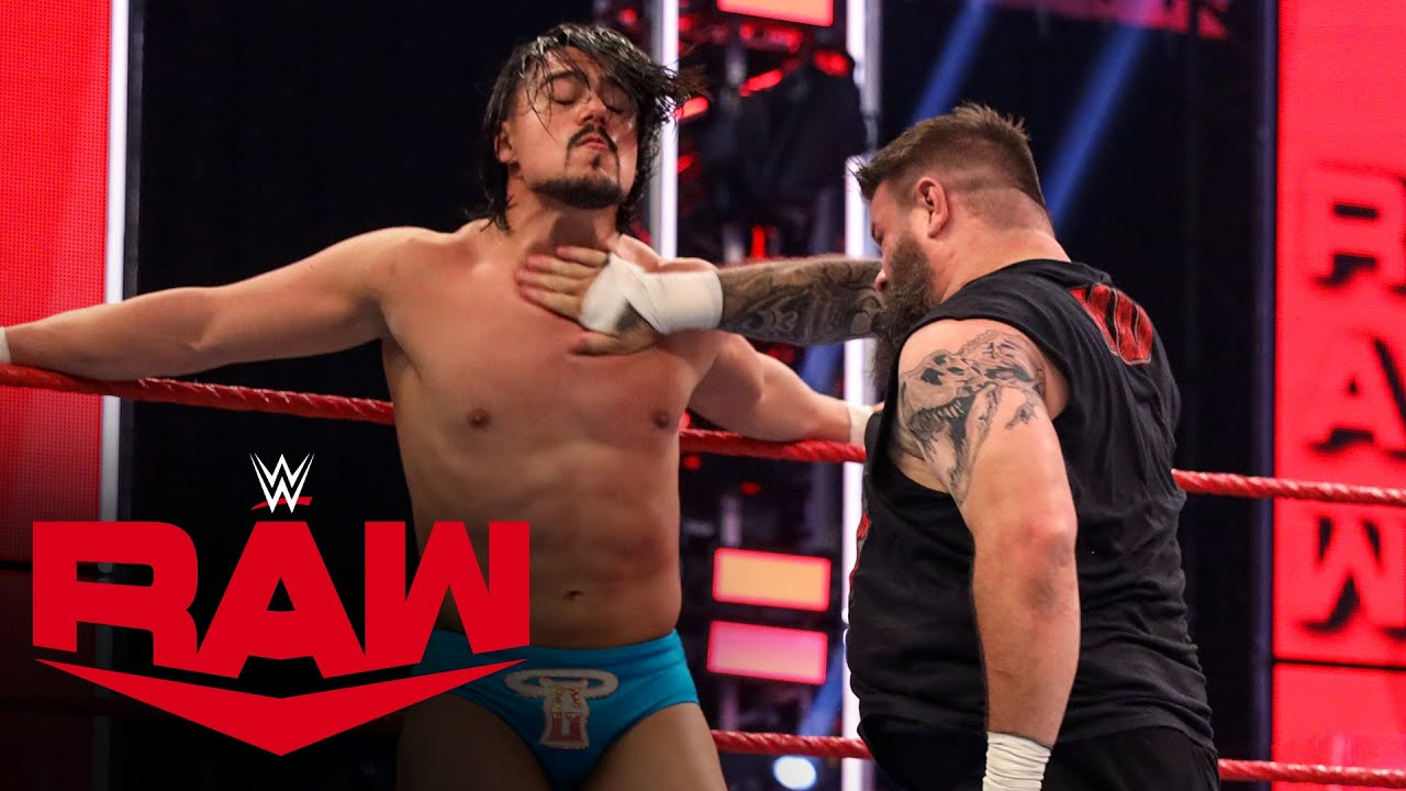 Kevin Owens vs. Angel Garza: Raw, May 25, 2020