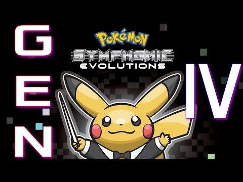 Pokémon Symphonic Evolutions: Diamond/Pearl/Platinum Music (Generation 4)