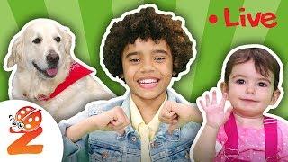 🦈BABY SHARK & More Nursery Rhymes & Kids Songs Non Stop ⭐🌴LIVE Stream by #ZouzouniaTV