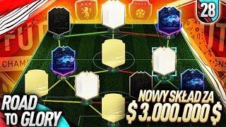 NOWY SKŁAD za 3.000.000 MONET! | FIFA 20 Ultimate Team RTG [#28]