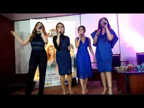 Birit Queens Concert Presscon with Morissette, Jona, Klarisse and Angeline Quinto.