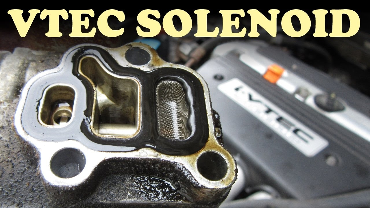How To Replace A Honda Vtec Solenoid Gasket Youtube