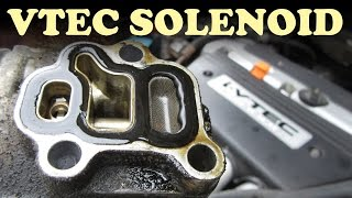 How to Replace a Honda VTEC Solenoid Gasket