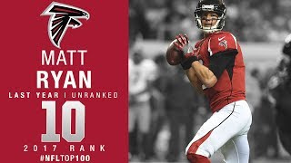 #10: Matt Ryan (QB, Falcons) | Top 100 Players of 2017 | NFL