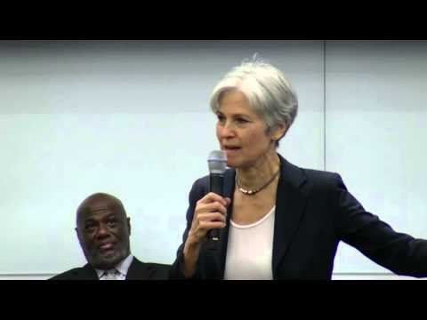 2016 Green Party Presidential Candidate Jill Stein at Georgia State University Law School
