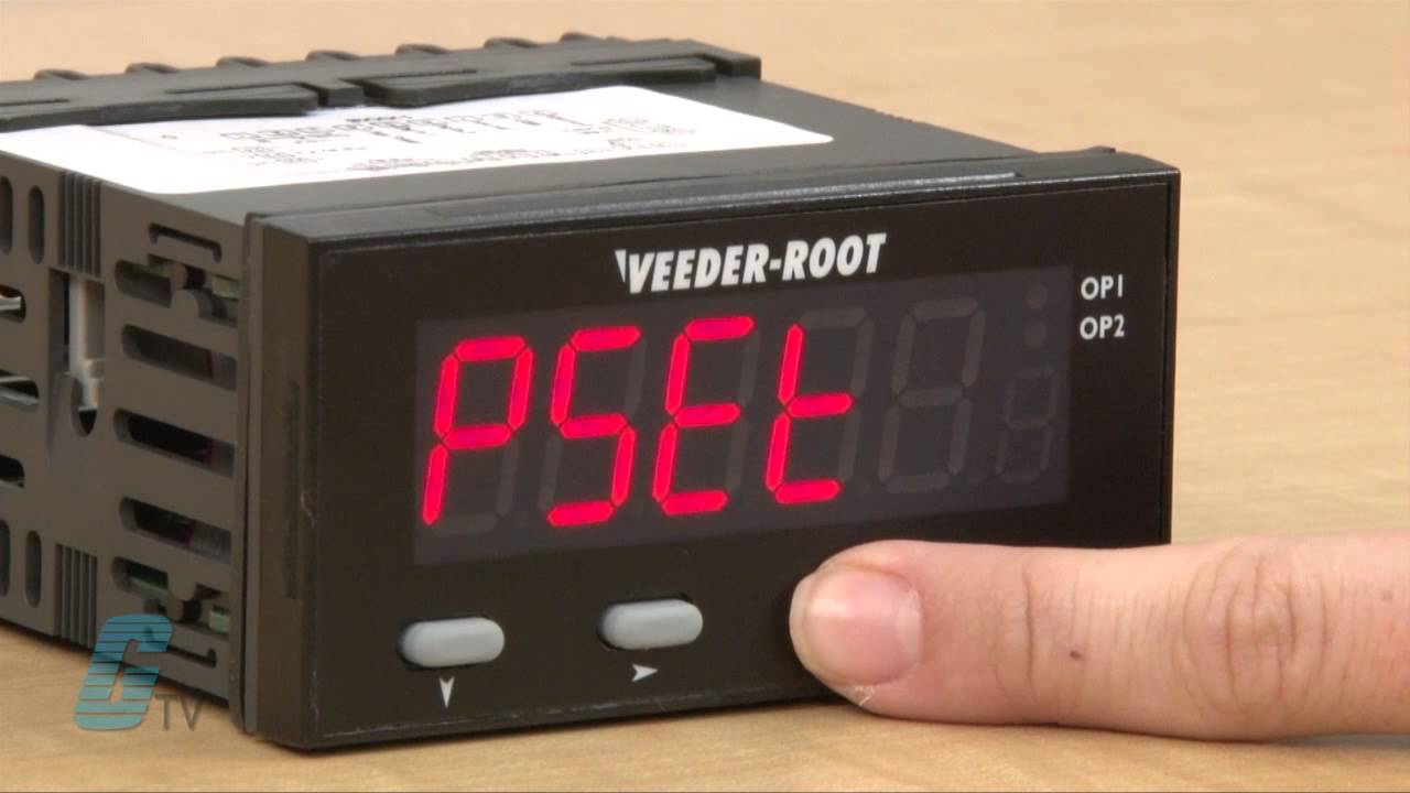 Veeder Root C628 Awesome Series Electronic Counter Set Up