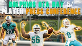 Dolphins OTAs Day 5/ Player Press Conference [ Miami Dolphins Fan Reaction]