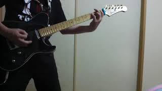 THE THIRD(仮)の「R・I・O・T」を弾きました。 アニメ「バンドリ!」か...
